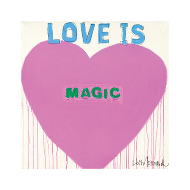 Love Is Magic No. 3 Art Print