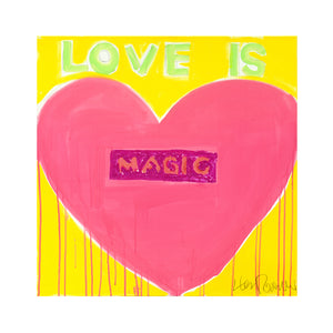 Love Is Magic No. 1 Art Print