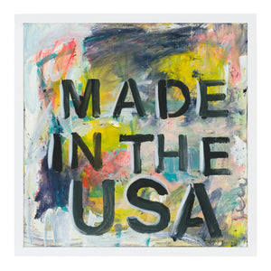 Made in the USA Art Print