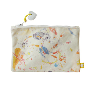 Messy Canvas Pouch