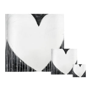 Modern Love Drippy Heart Block of Love
