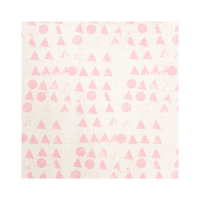 Moon + Tree Bubblegum Belgian Linen Fabric