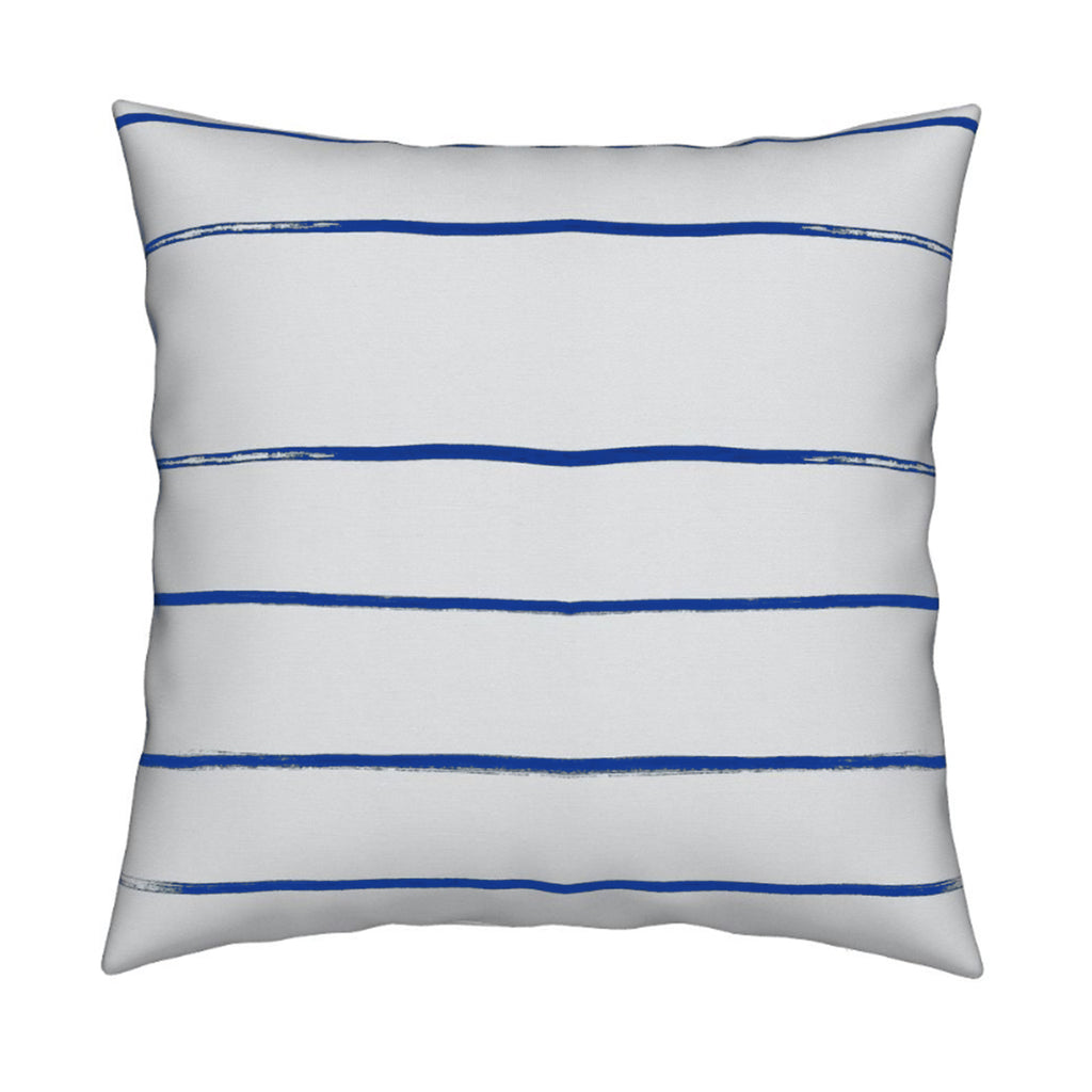 Mr. Sharpie Indigo Pillow