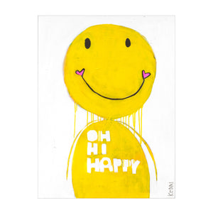 Mr. Happy Art Print