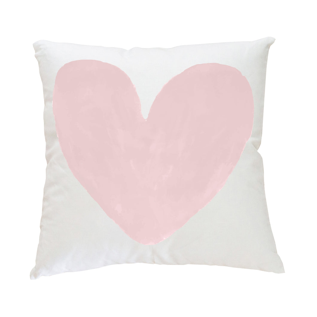 My Heart Blush Pillow