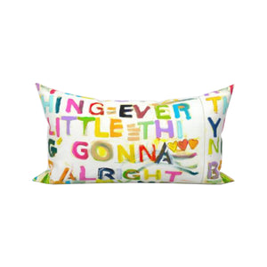 My Message To You Lumbar Pillow