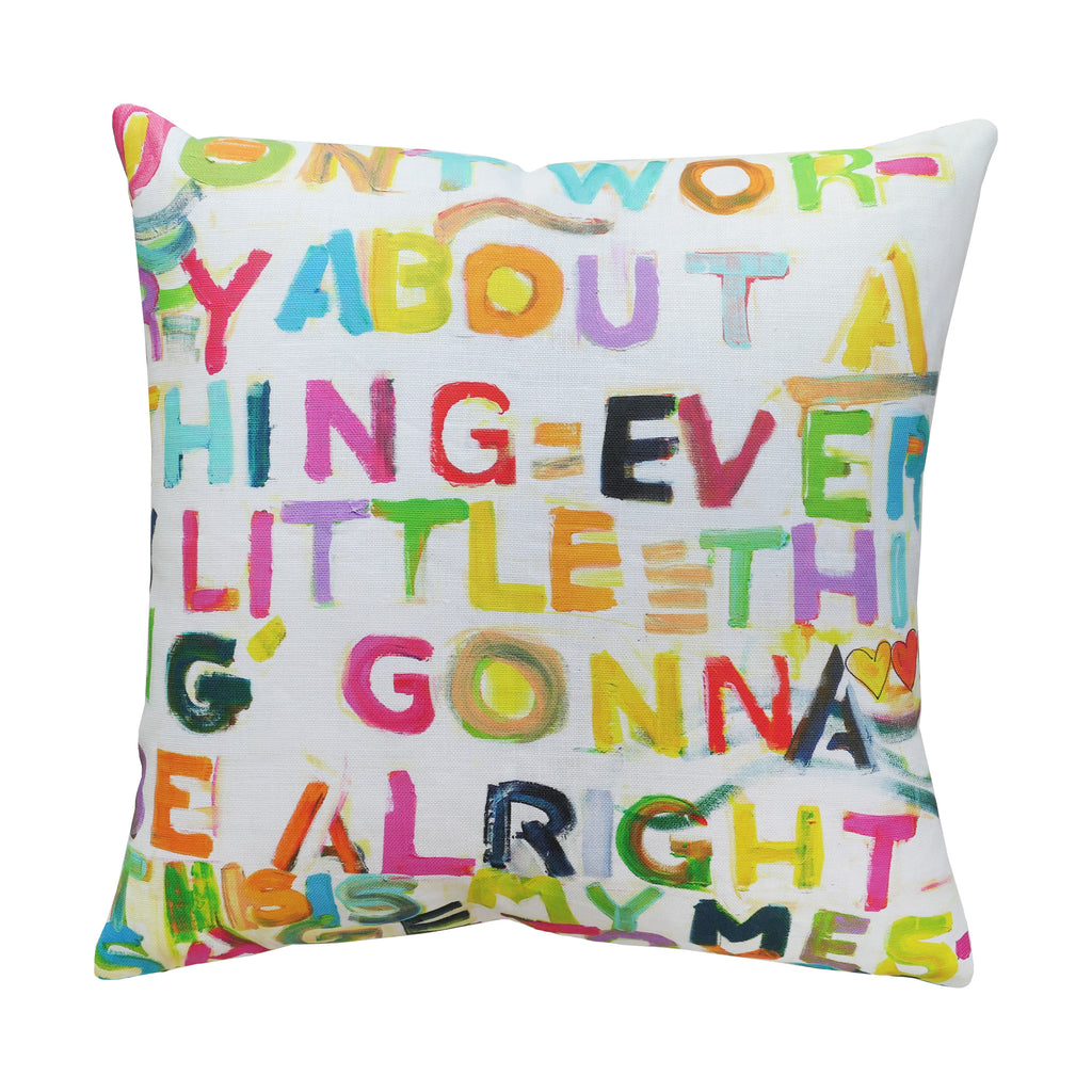 My Message To You Pillow
