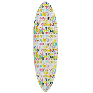 My Message To You Surfboard