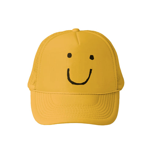 Mr. Happy Trucker Hat Sunshine