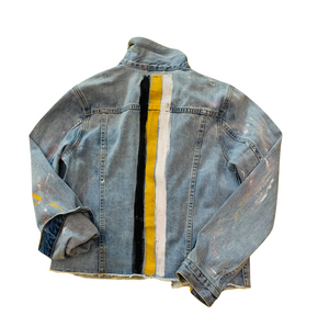 Mrs. Goldstripes Denim Jacket