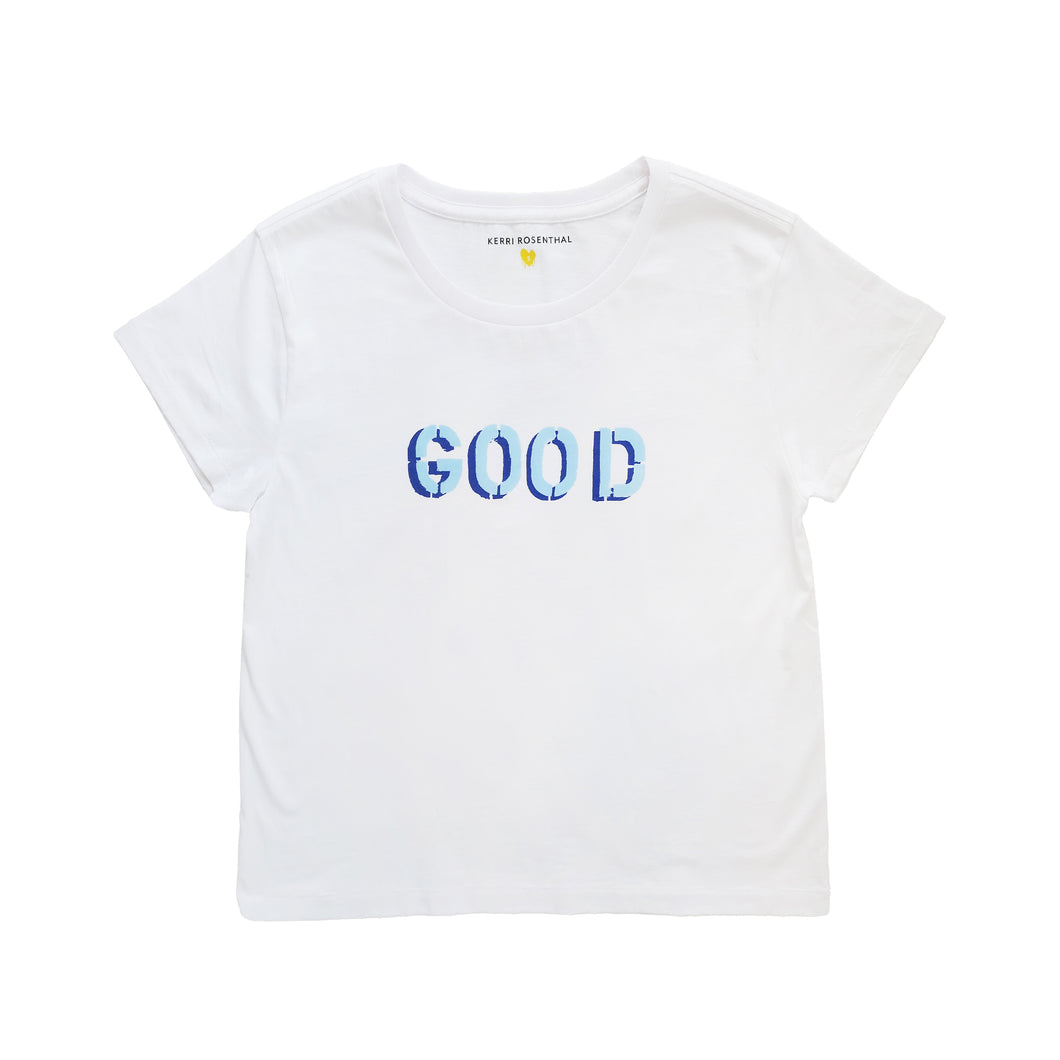 Good True Blue Tee
