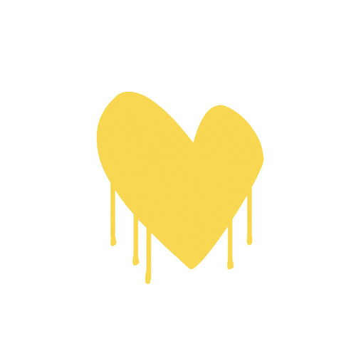 Drippy Heart  Paperless Wallpaper (single)