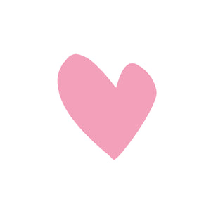 Imperfect Heart Pink Paperless Wallpaper (12 per pack)