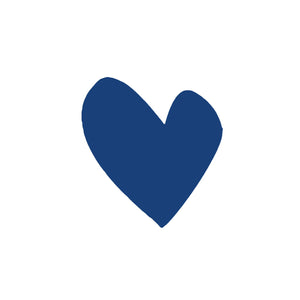 Imperfect Heart Indigo Paperless Wallpaper (12 per pack)