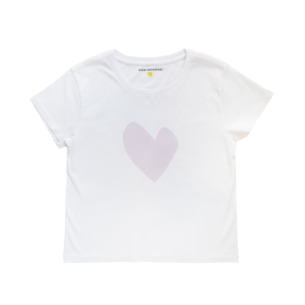 Imperfect Heart Mauve Tee