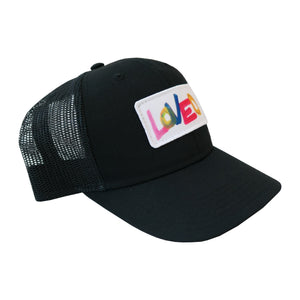 LOVED Hat Black