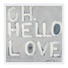 Oh, Hello Love Art Print
