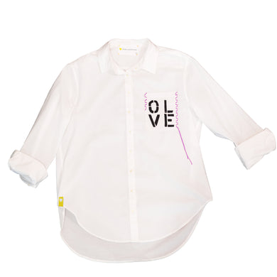 Olive You Pocket Button-Up