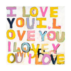Oui To Love Art Print