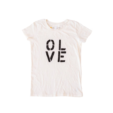 Olive You Tee Shirt - White