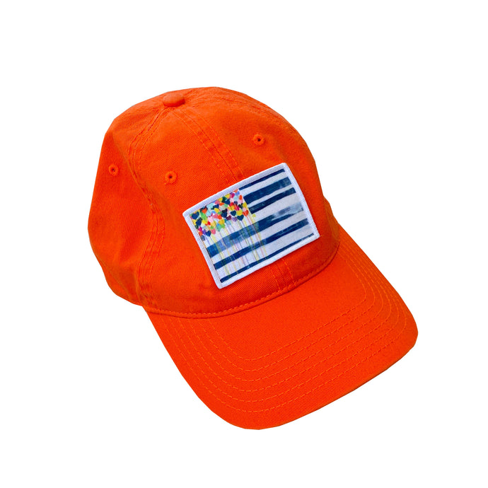 US of Love Classic Baseball Hat (Orange)