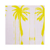 Palms Lilac Citrine Fabric