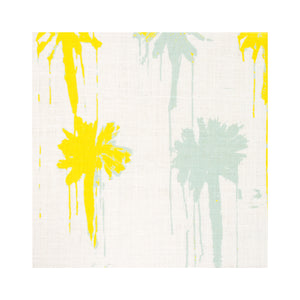 Pom-Poms Sunshine Fabric