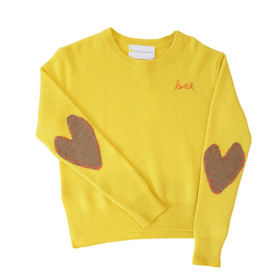 Patchwork Love Cashmere - Sunflower + Coco
