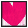 Pinkie Is The New Pinkie Drippy Heart Art Print