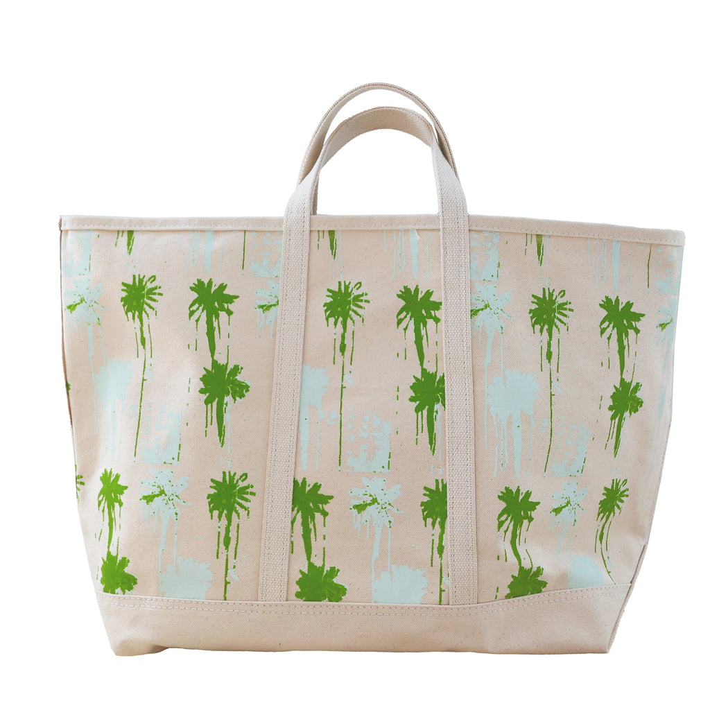 Pom Pom Beach Canvas Tote