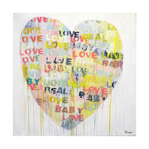 Real Love Baby Art Print