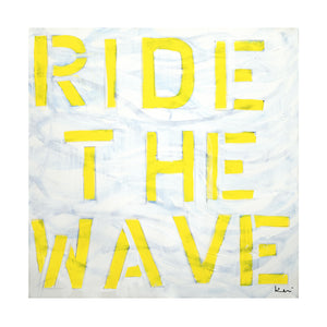 Ride The Wave Art Print