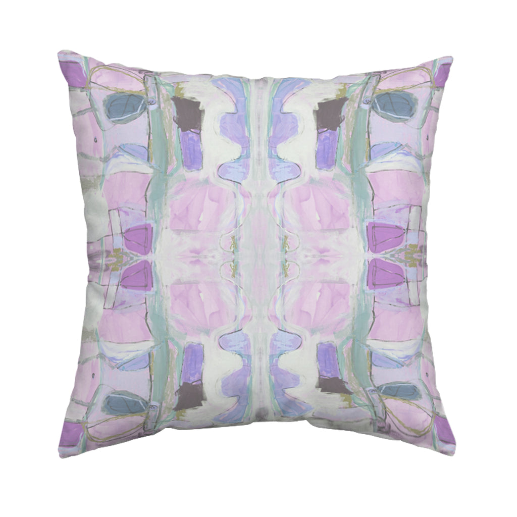 Right Or Wrong Lilac Pillow