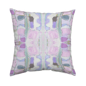 Right Or Wrong Mauve Pillow