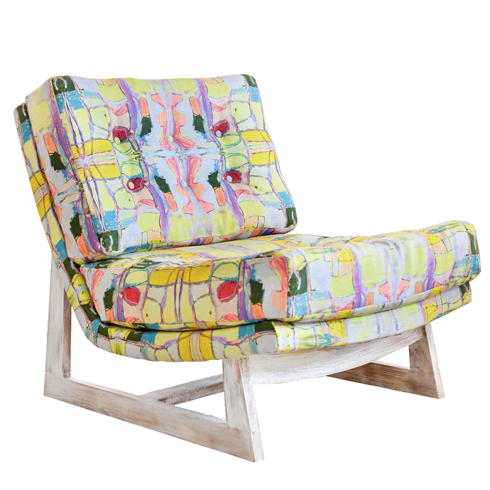Right Or Wrong Citrine Romeo Chair Sale - 2 in stock