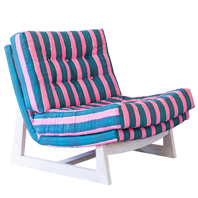 Romeo Chair in Nomad Stripes