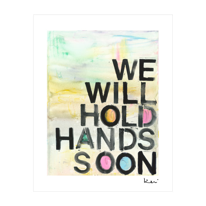 See You Soon Mini Art Print