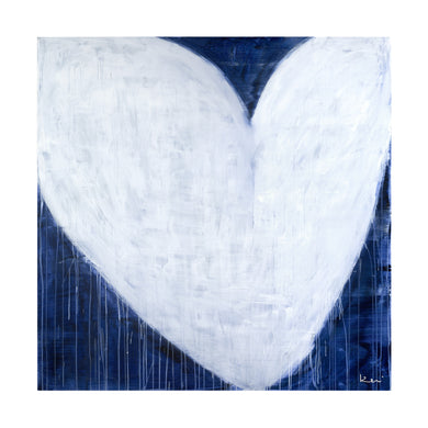She Will Be Loved Drippy Heart Art Print