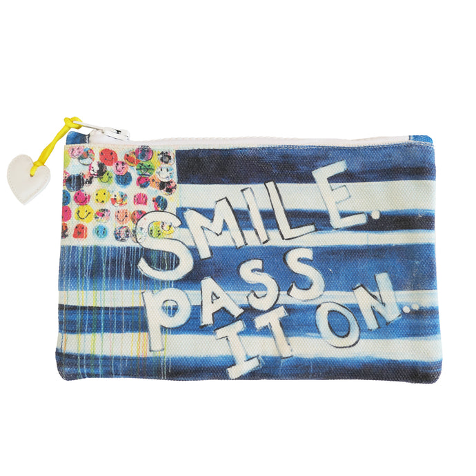 KR Canvas Pouch - Smile Pass It On