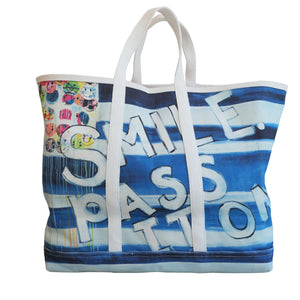 KR Canvas Tote - Smile Pass It On