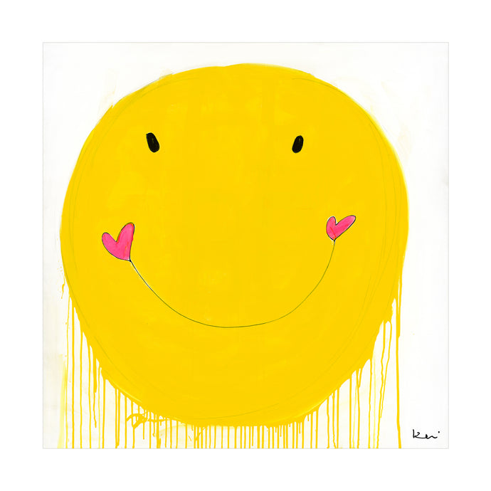 Smiley Art Print