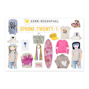 Spring 21 Paperless Dolls Sticker Sheet