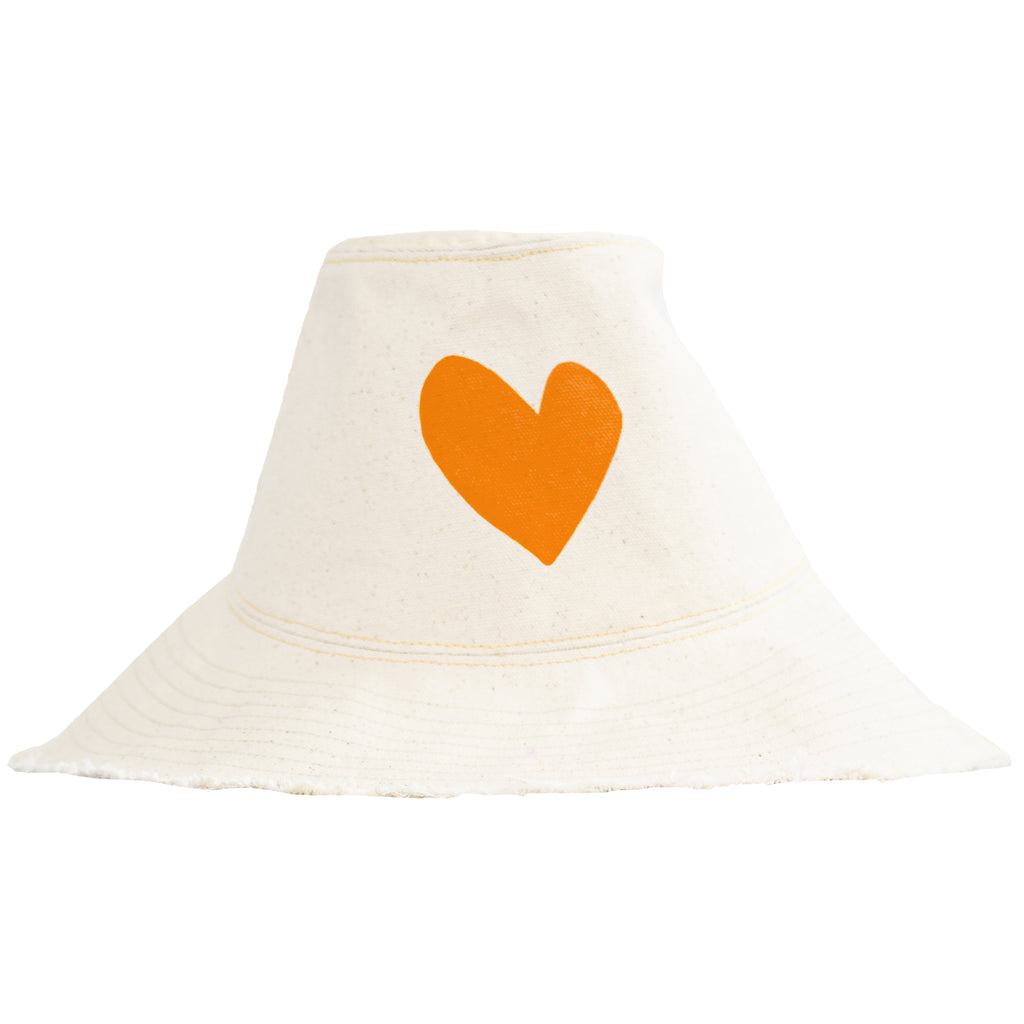 Sunny Daze Imperfect Heart Hat Natural - Vitamin L