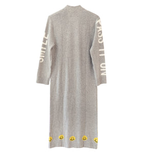 Super Long Cashmere Cardigan - Smile Pass It On