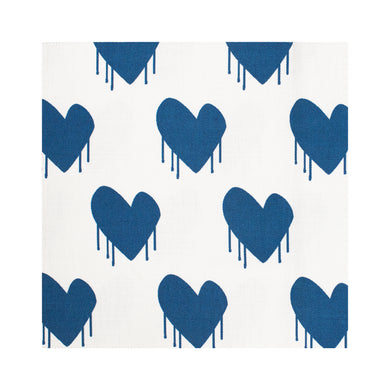 Sweethearts Indigo Fabric