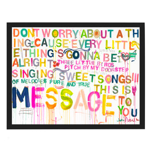 Sweet Songs Art Print