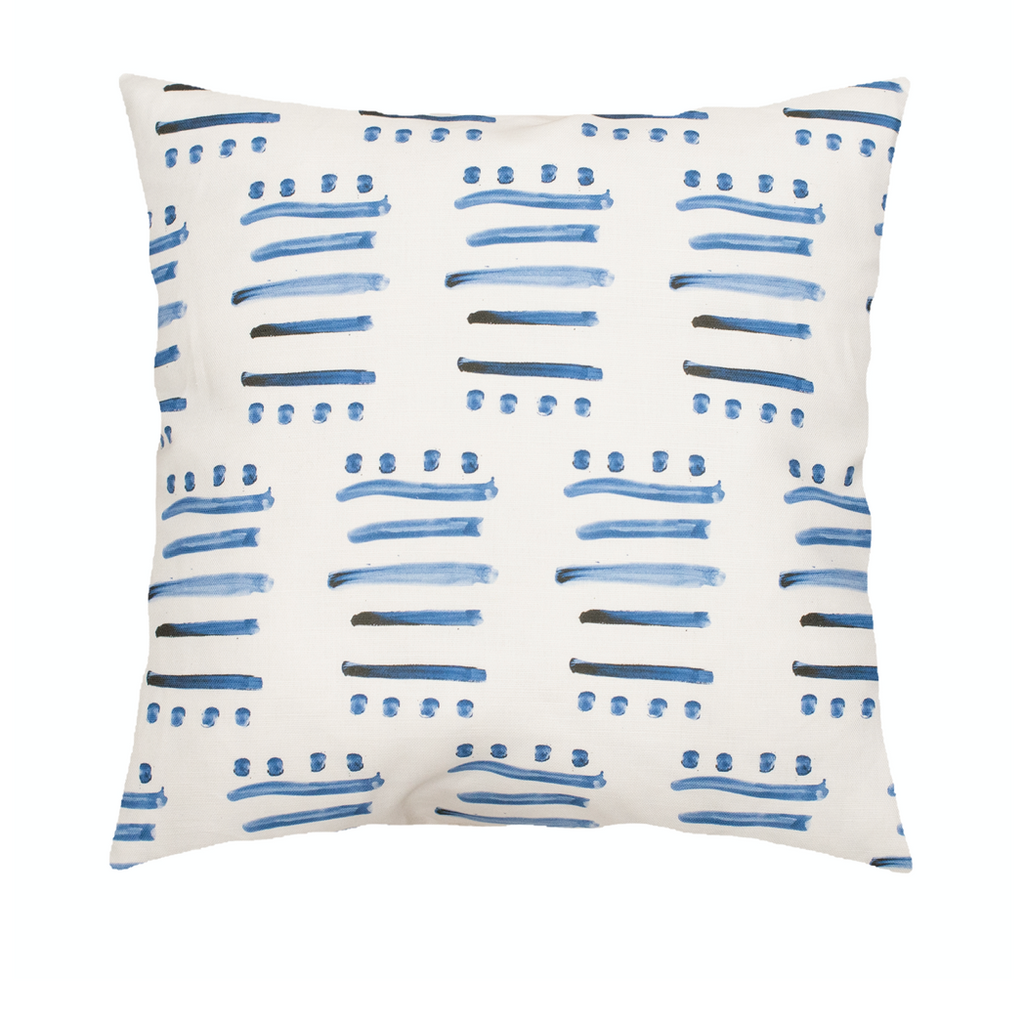 14 Layers Indigo Pillow