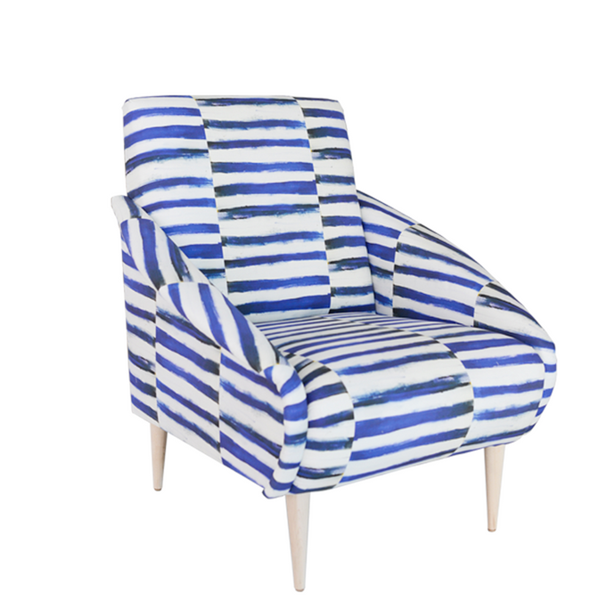 Hygge Moroccan Striped Chair SALE 2 IN STOCK