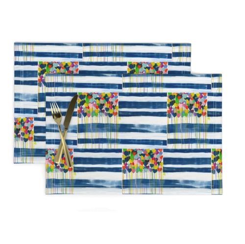United States Of Love Placemats