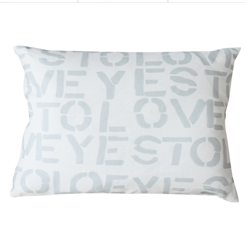 Headboard Pillow - YES TO LOVEY DOVE